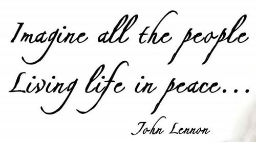 แปลเพลง Imagine - John Lennon