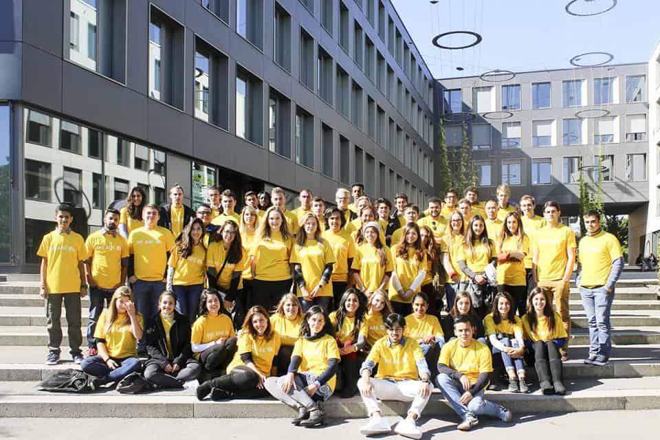 น้องจอย เรียน BBA ที่ EU Business School, Munich