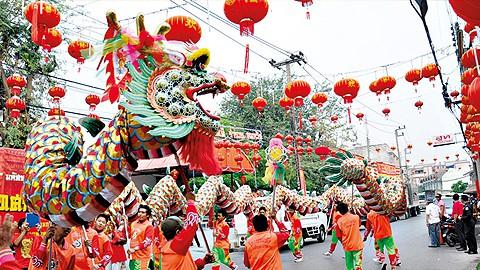 เทศกาลตรุษจีนที่โคราช