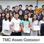 """""""น้องแอ้"""" ได้รับรางวัล Top Student Award จาก TMC ประเทศสิงคโปร์"""