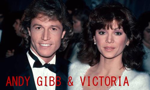 ANDY GIBB & VICTORIA