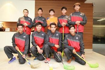นักกีฬาฟลอร์บอลทีมชาติไทย