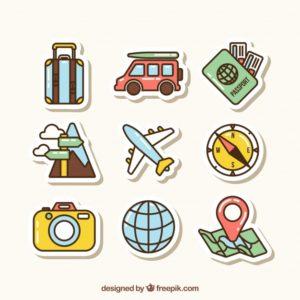 จัดกระเป๋าไปต่างประเทศ หมวด เอกสารสำคัญ