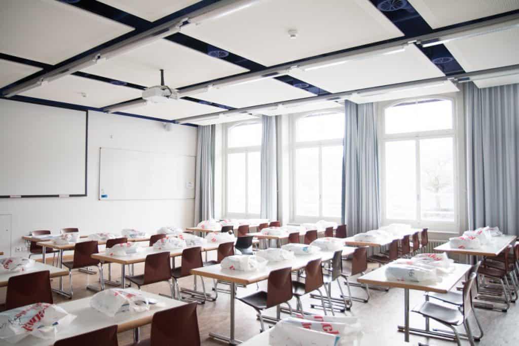 ห้องเรียน ของ BHMS สวิตเซอร์แลนด์