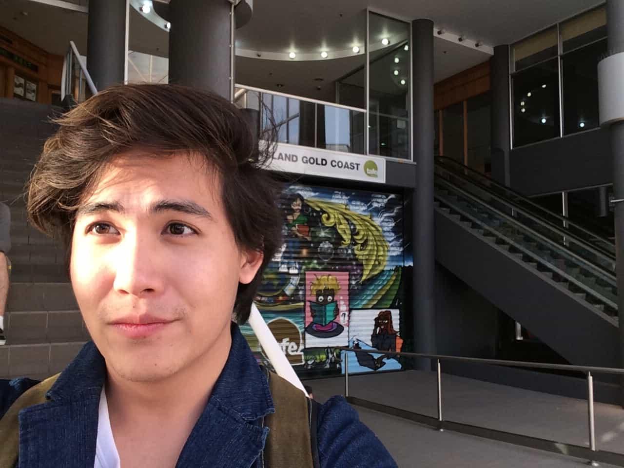 น้องบอมบ์ เรียนภาษาอังกฤษที่ TAFE Queensland Gold Coast