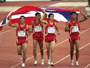 กรีฑาทีมชาติไทยชาย