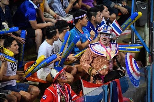 กองเชียร์ไทย | ประวัติตะกร้อ