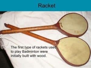 ประวัติแบดมินตัน Racket