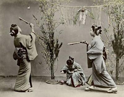 การตีแบดของชาวญี่ปุ่น   ประวัติแบดมินตัน