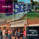 เรียนป.โท ทางด้านวิศวกรรมศาสตร์ ที่ ESIGELEC ประเทศฝรั่งเศส