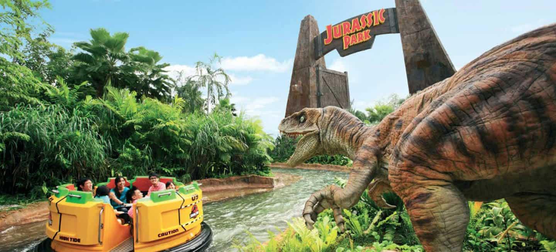 Jurassic World @ Universal Studios Singapore