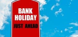 วันหยุดธนาคาร 2561 ตามระเบียบของธนาคารแห่งประเทศไทย