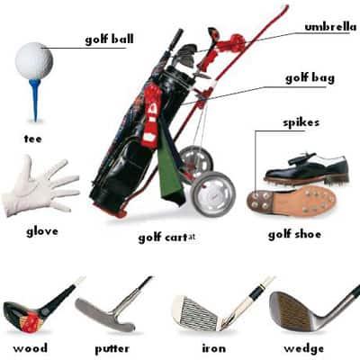 ไม้กอล์ฟ อุปกรณ์กอล์ฟ