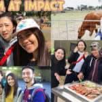 น้องดรีม เรียนภาษาอังกฤษที่ Impact English College เมืองเมลเบิร์น ประเทศออสเตรเลีย