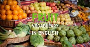 ผลไม้ภาษาอังกฤษ คำศัพท์ผลไม้ Fruits Vocabularies คำแปล พร้อมรูป ผลไม้