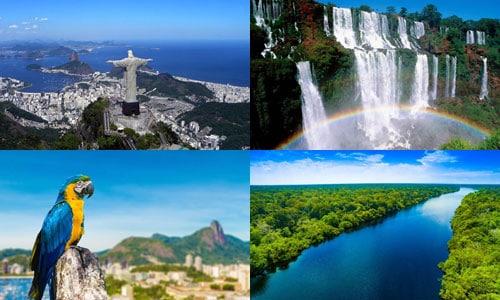 ประเทศที่ใหญ่ที่สุดในโลก อันดับ 5 บราซิล