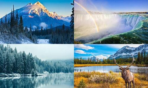 ประเทศที่ใหญ่ที่สุด อันดับ 2 แคนาดา
