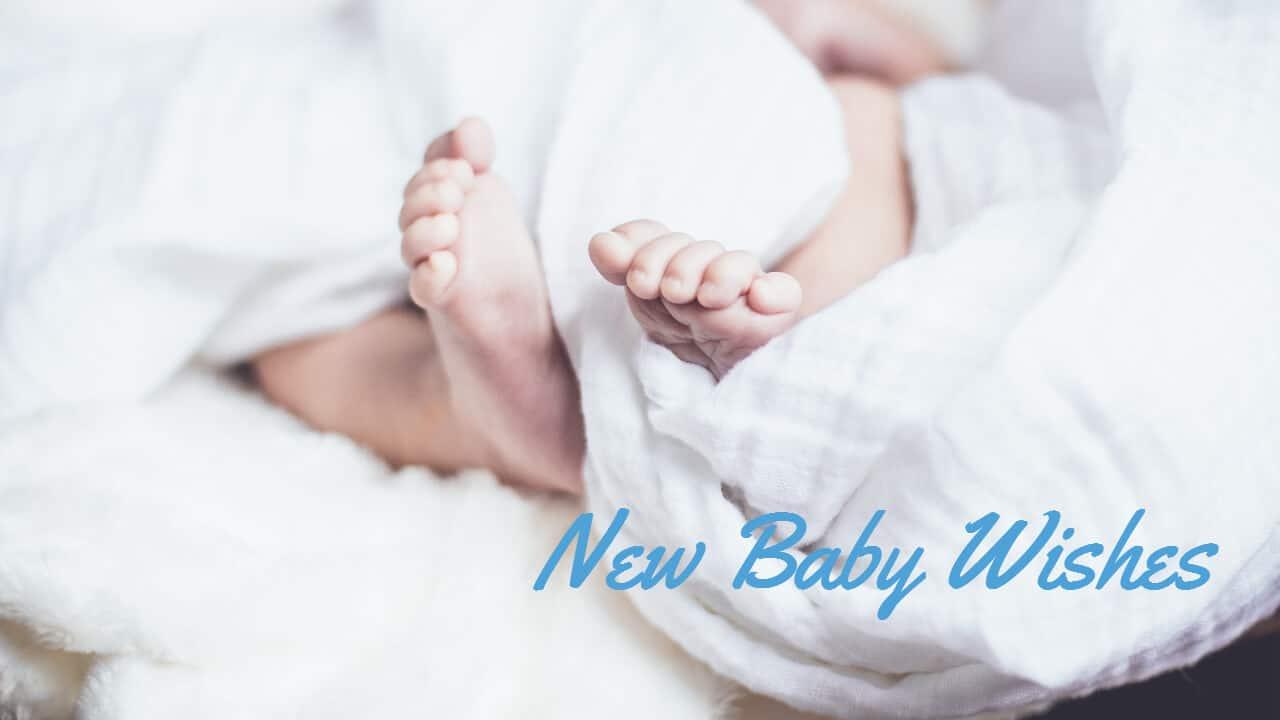 คำอวยพรเด็กแรกเกิด ภาษาอังกฤษ