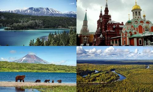 ประเทศที่ใหญ่ที่สุดในโลก อันดับ 1 รัสเซีย