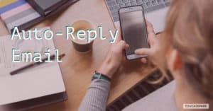 รวบรวม auto reply สำหรับอีเมล การส่งการตอบกลับอัตโนมัติ