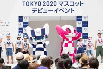 มาสคอต โตเกียวโอลิมปิก 2020