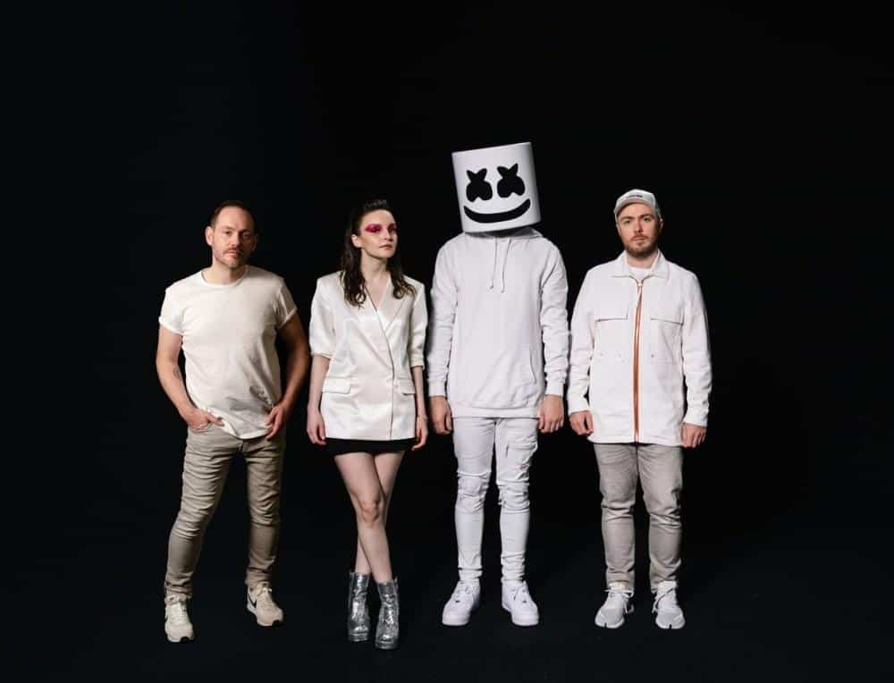 แปลเพลง Here With Me - Marshmello Featuring CHVRCHES