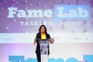 ดร.กันทิมา ในงาน FameLab Thailand Competition 2019