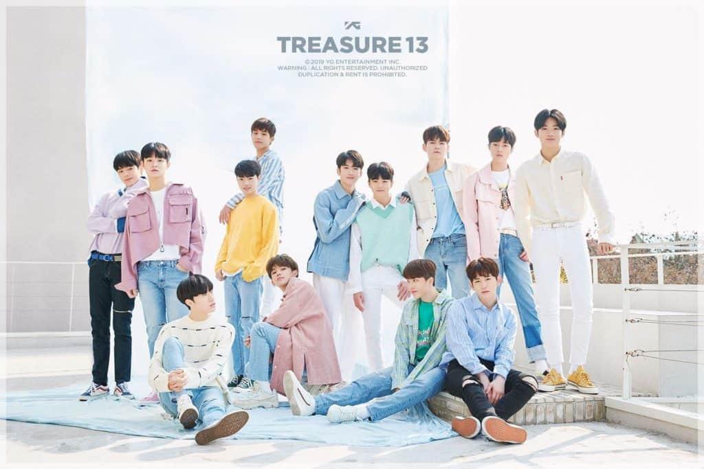 ประวัติ treasure 13