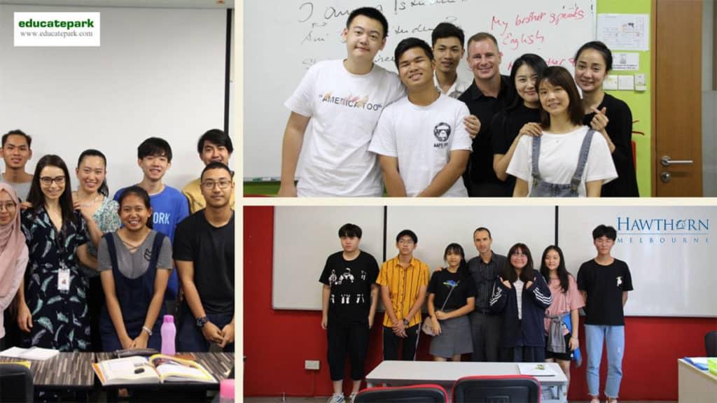 น้อง ๆ เรียนภาษาอังกฤษที่ Hawthorn สิงคโปร์