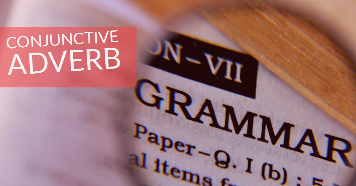 Conjunctive Adverb คือ