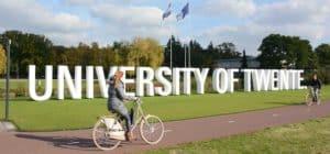 ทุนการศึกษา ป.โท จาก University of Twente