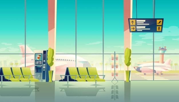 คำศัพท์ในสนามบิน