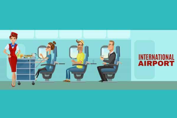 คำศัพท์ในสนามบิน คำศัพท์บนเครื่องบิน