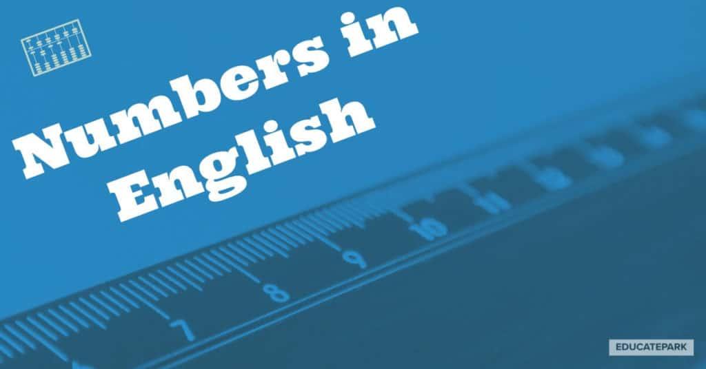 นับเลขภาษาอังกฤษ
