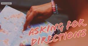 ถามทางภาษาอังกฤษ บอกทางภาษาอังกฤษ แนะนำเส้นทาง