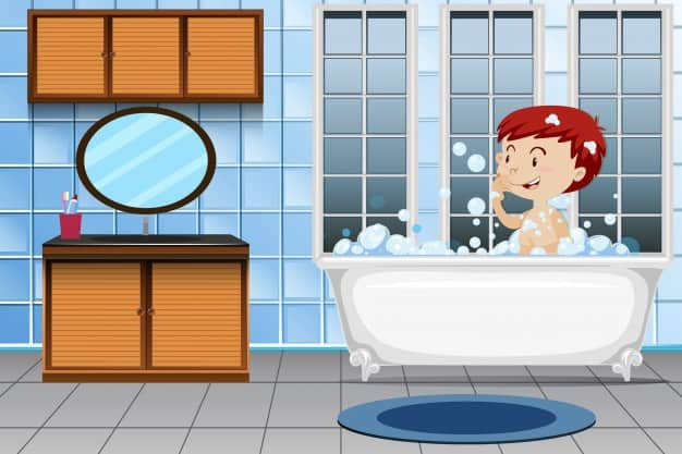 ห้องอาบน้ำ ภาษาอังกฤษ